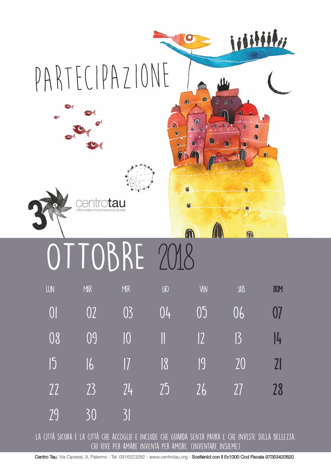 calendario-2018-ottobre