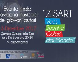 """Evento finale """"Zisart Voci, Suoni e Colori dal Mondo"""""""