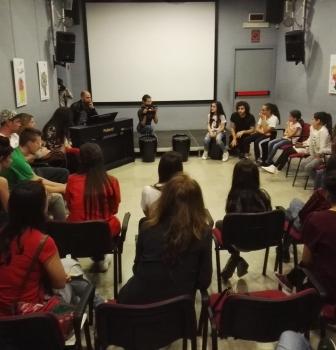 Jessica Nuccio ritorna al Centro Tau nella veste di maestra di canto e di vita