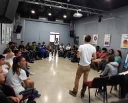 """CULPEER for integration"" al Centro Tau"