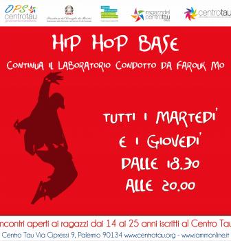 Continua il laboratorio di Hip Hop base condotto da Farouk Mo al Centro TAU vi aspettiamo.