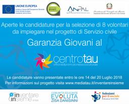 """Elenco colloqui """"Garanzia giovani al Centro Tau"""" 2018"""